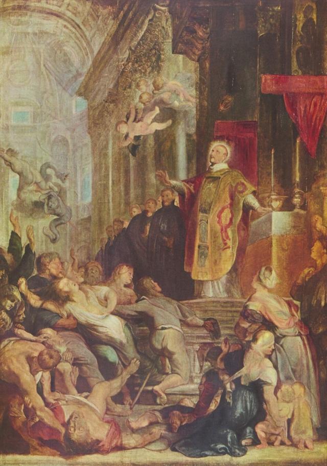 Питер Пауль Рубенс. Чудеса св. Игнатия Лойолы. 1620—1621 гг