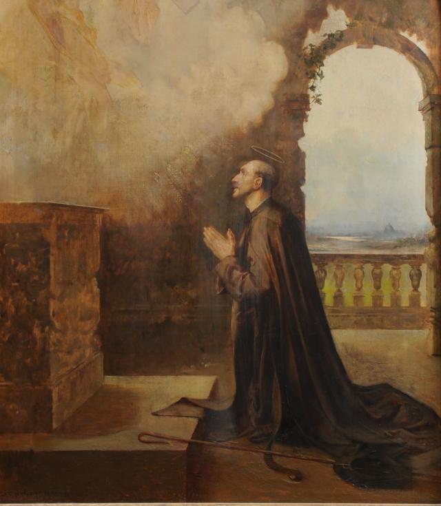 Альберт Шевалье-Тайлер. Жизнь Святого Игнатия. Видение в Ла-Сторте, за пределами Рима. Ноябрь 1537 г