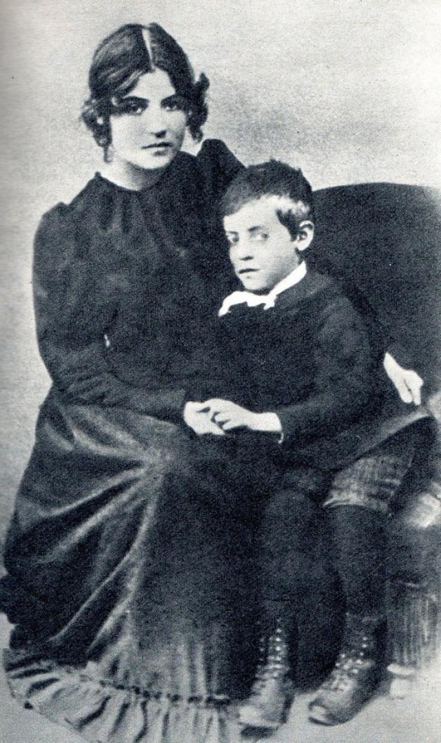 Морис Утрилло и его мать Сюзанн Валадон