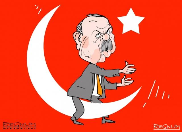 Эрдоган бьется за символы империи и исламские реликвии