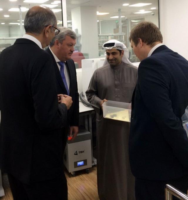 Сергей Гапликов во время визита в Бахрейн
