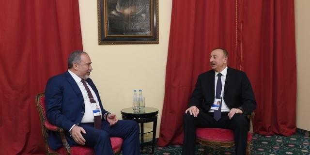 Ильхам Алиев и Авигдор Либерман