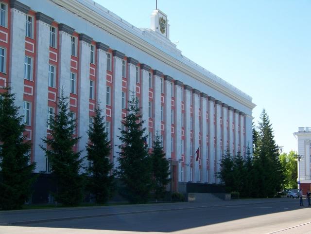 Здание правительства Алтайского края