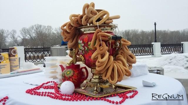 Угощения для гостей новогодней ярмарки