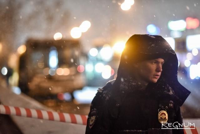Полиция на месте аварии