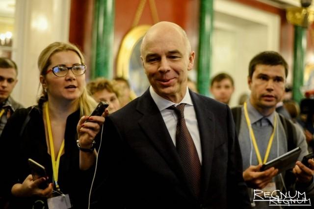 Силуанов: В текущем году Резервный фонд будет исчерпан полностью