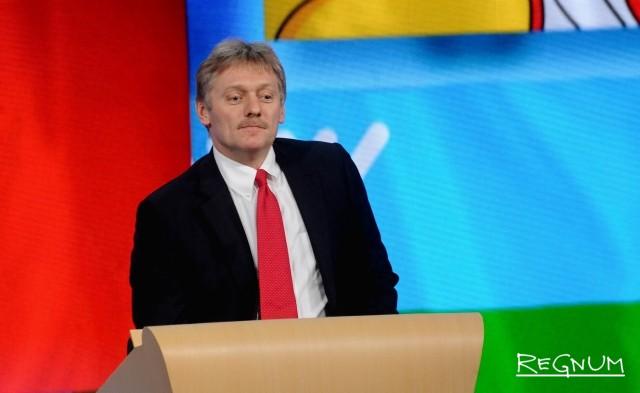Песков: Путин лично подаст документы в ЦИК в установленные сроки