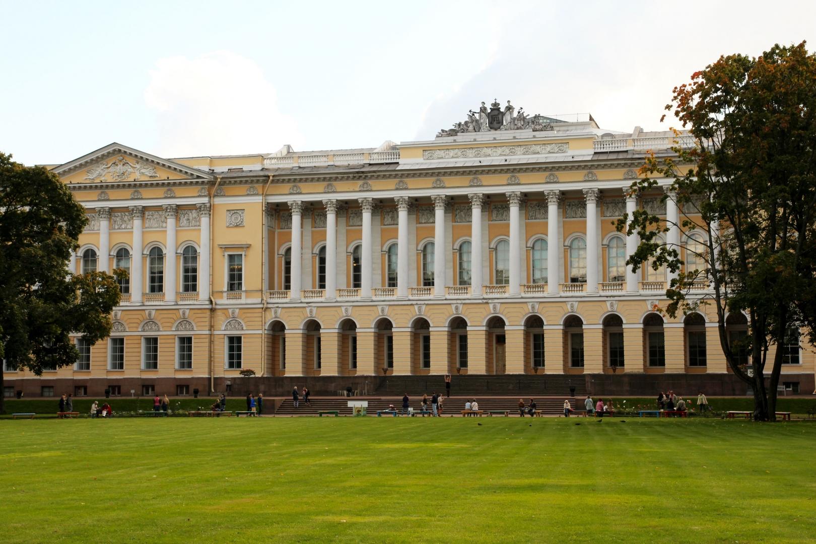 фото михайловского дворца нас