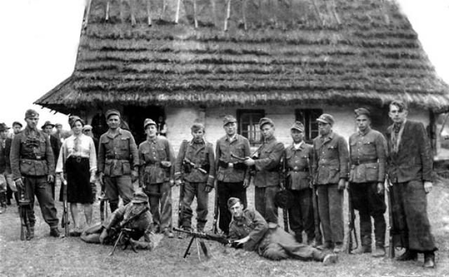УПА (организация, деятельность которой запрещена в России). 1943