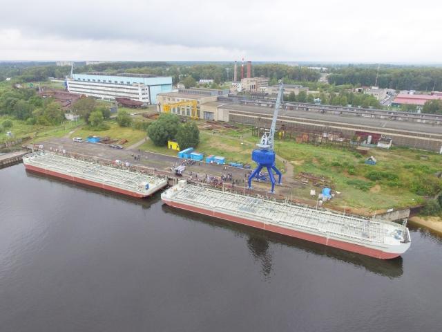 В Ярославской области будут строить уникальные сухогрузы