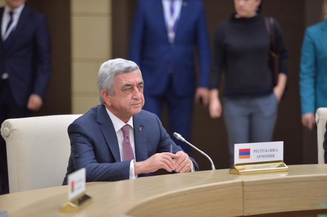 Политическое будущее Саргсяна – главный вопрос 2018 г. для Армении