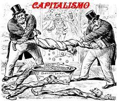 Капитализм. Карикатура