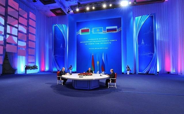 Заседании Высшего Евразийского экономического совета