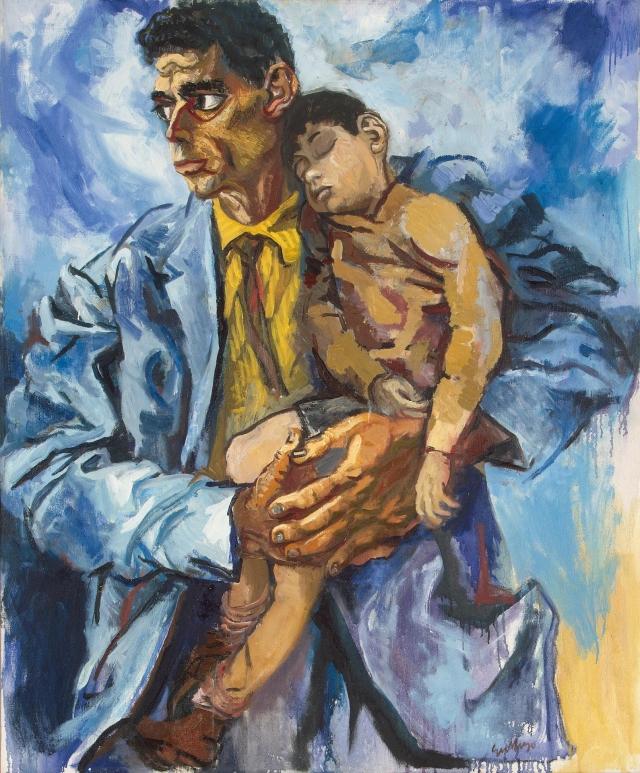 Портрет Рокко с сыном. 1960