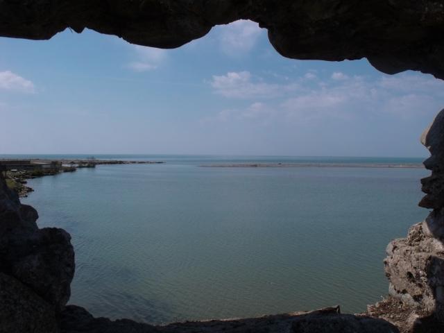 Вид на Анаклию из крепости
