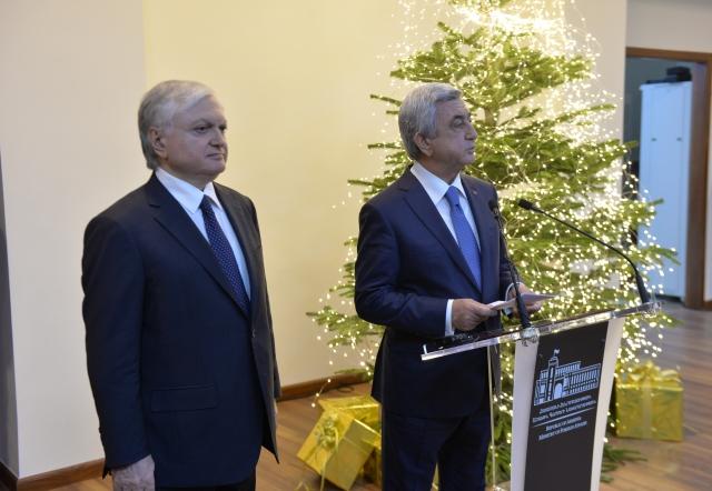 Президент Армении подвёл внешнеполитические итоги года