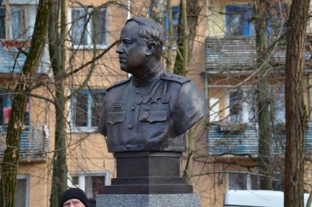 В Калуге открыли бюст генерала Ивана Болдина