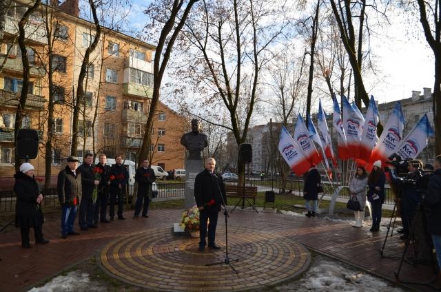 29 декабря в Калуге был торжественно открыт бюст командующего 50-й армией генерала Ивана Болдина