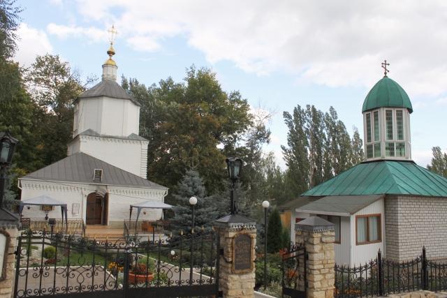 Древне-Успенская монастырская церковь. Липецк