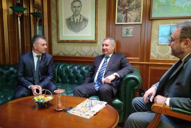Рабочая встреча Вадима Красносельского с Дмитрием Рогозиным