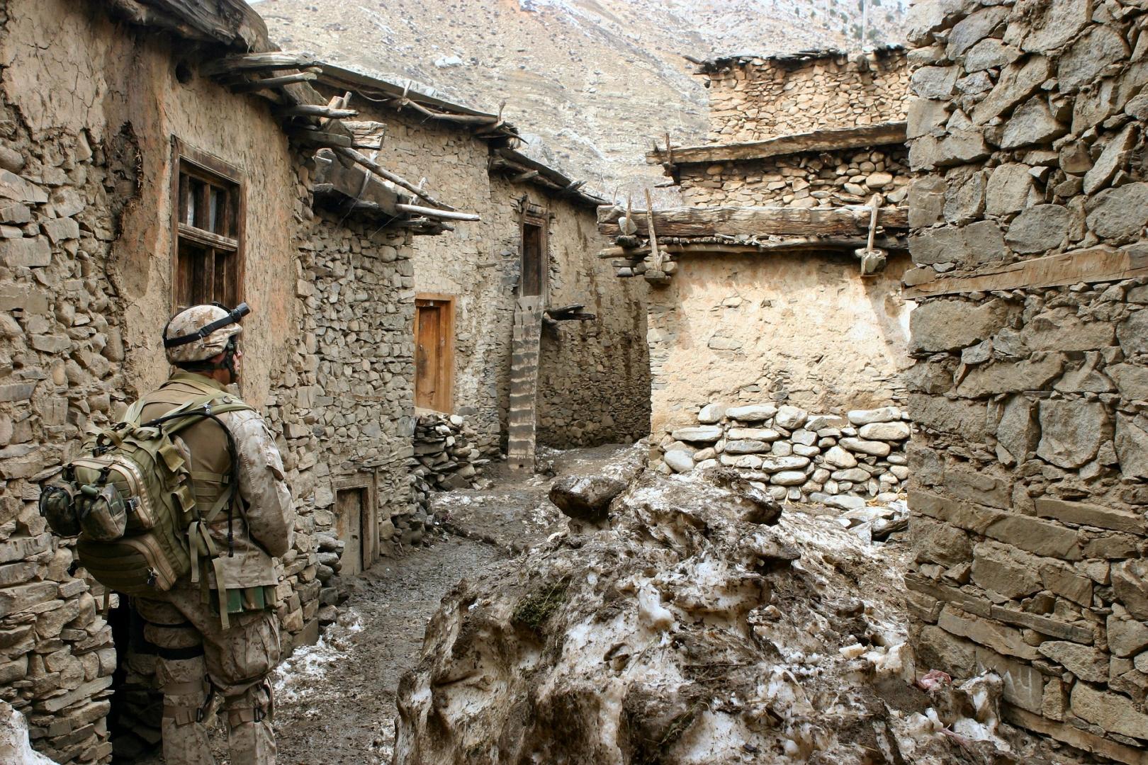 фото афганского кишлака как