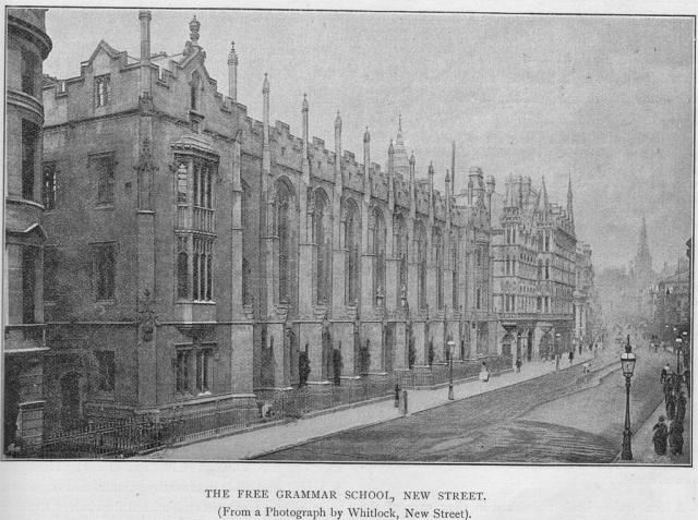 Школа короля Эдварда в Бирмингеме, где Толкин был учеником (1900-1902 гг., 1903-1911 гг.)