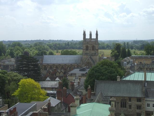 Колледж Мертон, где Толкин был профессором английского языка и литературы (1945-1959 гг.)