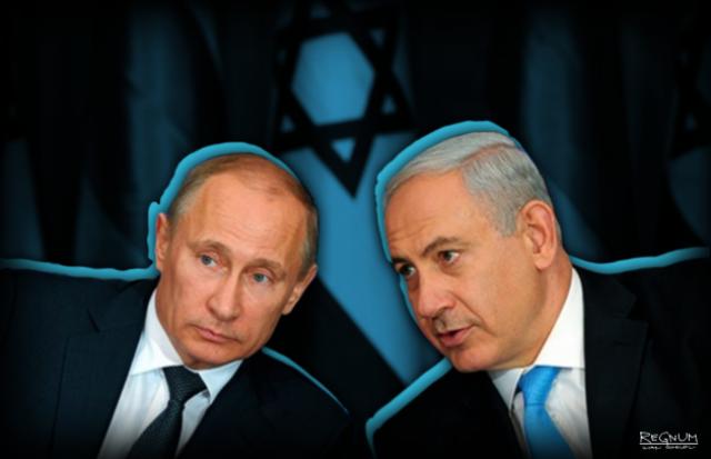 О чем будут говорить Путин с Нетаньяху