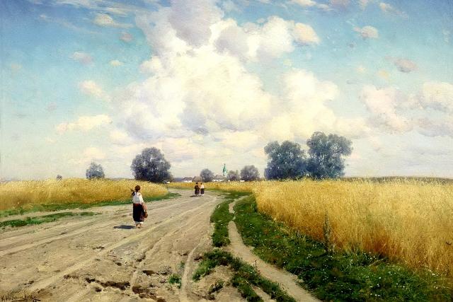 Константин Крыжицкий. Дорога. 1899