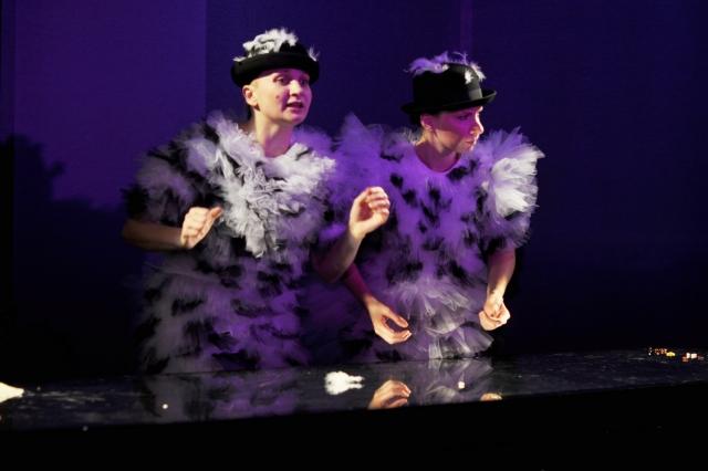 Сцена из спектакля «Лебединое озеро» в постановке Новгородского театра для детей и молодежи «Малый»