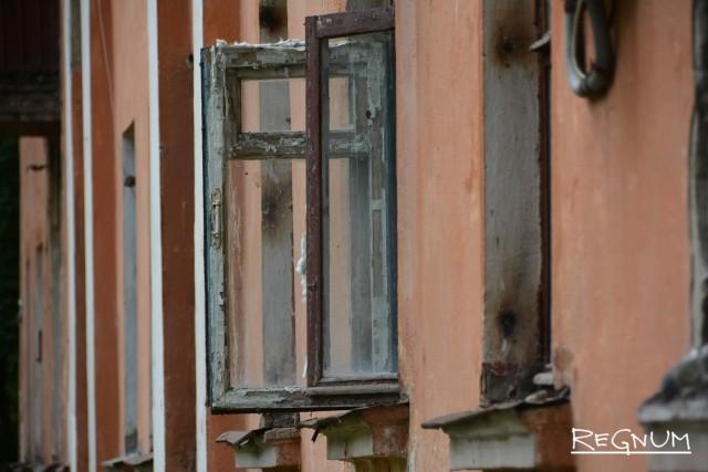 Аварийный дом в Воронеже