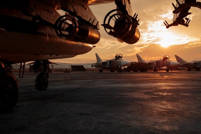 ВКС РФ на аэродроме «Хмеймим». Сирийская Арабская Республика