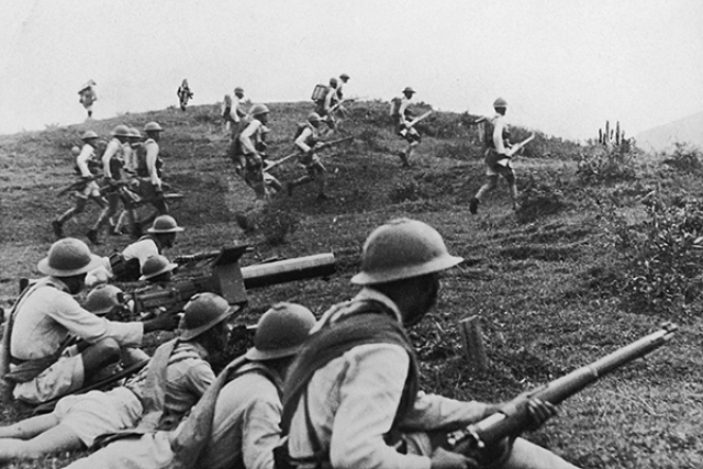 Солдаты Квантунской армии, 1938