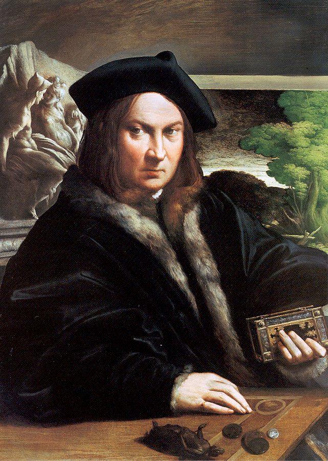 Франческо Пармиджанино. Портрет мужчины
