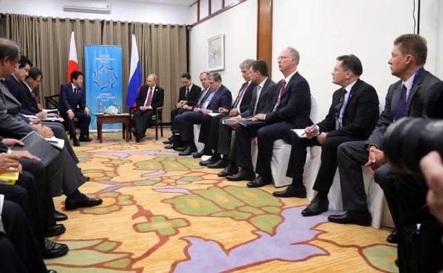 Российско-японская встреча  на высшем уровне. 2017
