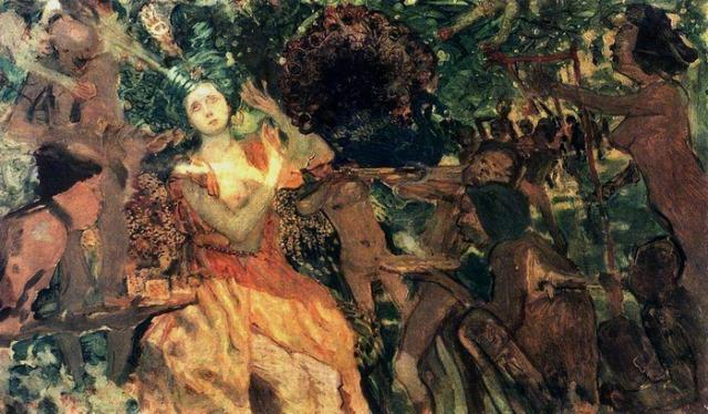 Константин Сомов. Людмила в саду Черномора. 1897