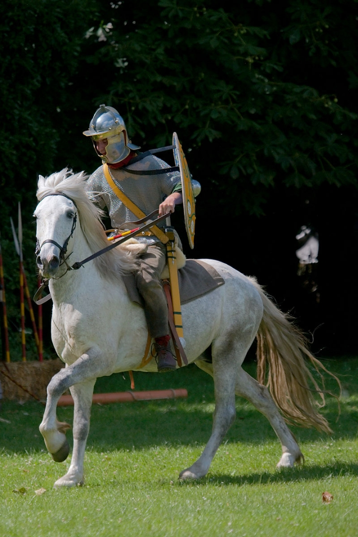 Конный римлянин (реконструкция)