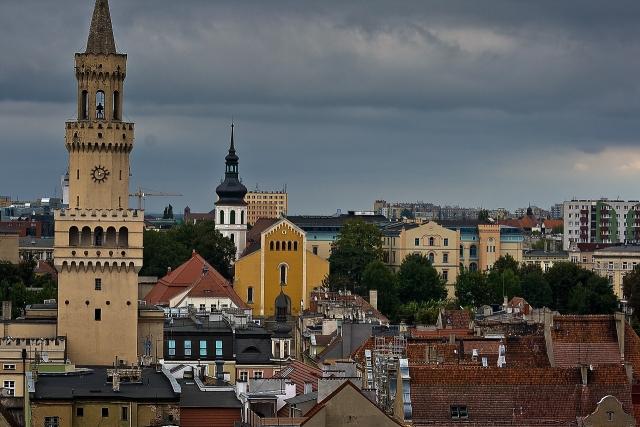 Ополе. Силезия. Польша