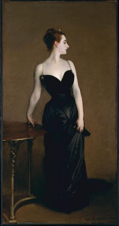 Джон Сарджент. Портрет мадам Икс. 1883