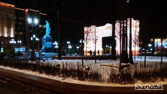 Предновогодние московские улицы