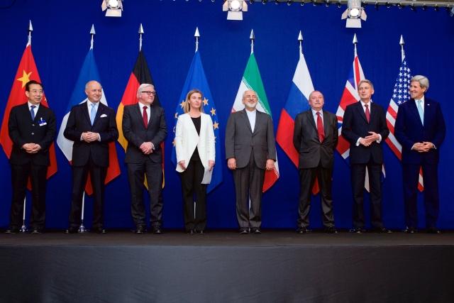 Переговоры об иранской ядерной программе — министры иностранных дел и других должностных лиц P5 + 1 и министры иностранных дел Ирана и ЕС в Лозанне
