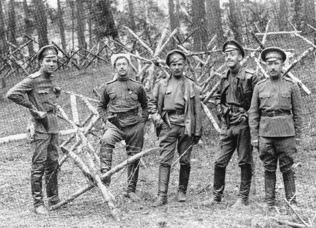 Юго-Западный фронт. 1917