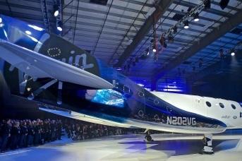 Суборбитальный космический корабль SpaceShipTwo модели Unity