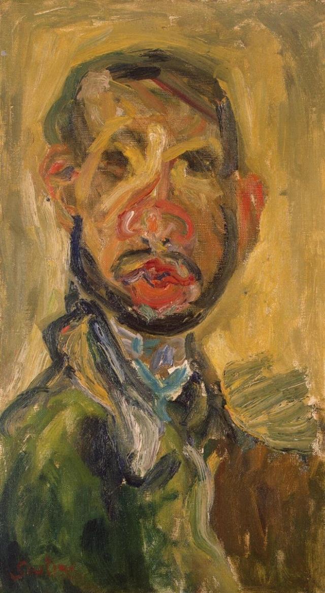 Хаим Сутин. Автопортрет. 1921