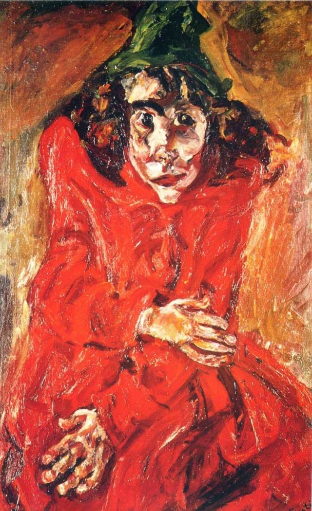 Хаим Сутин. Безумная женщина. 1919