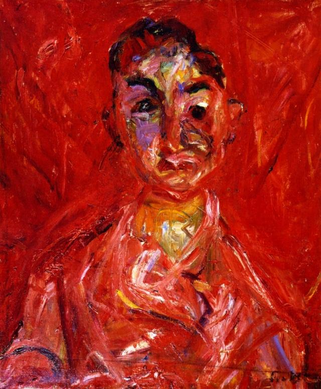 Хаим Сутин. Мальчик-мясник. 1920
