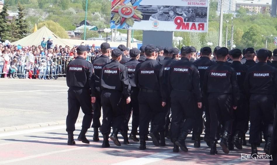 На параде Победы в Чебоксарах