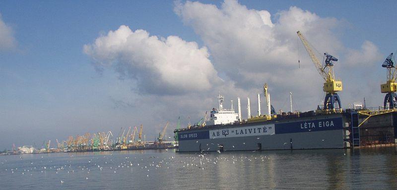 Порт Клайпеда