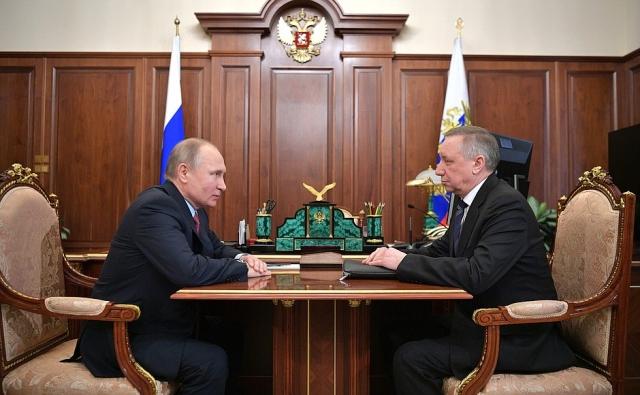 Путин поручил Беглову поддержать Петербург и СЗФО