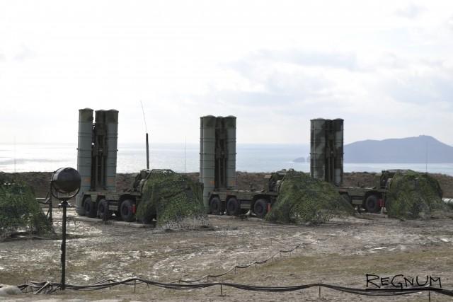 К боевому дежурству в Крыму приступил второй дивизион ЗРС С-400
